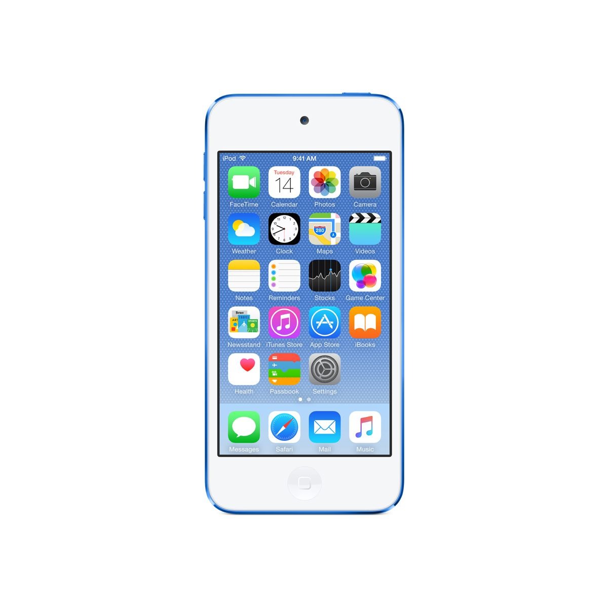 Apple ipod touch 64 go bleu - livraison offerte : code chronoff (photo)