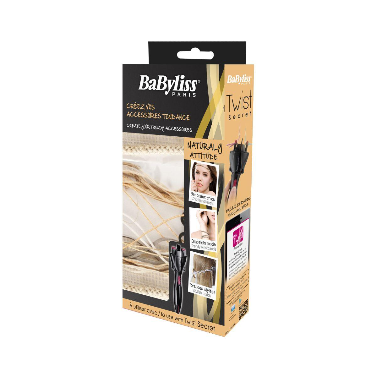 Babyliss kit accessoires twist naturaly (photo)