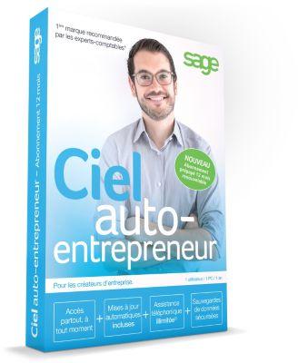 Logiciel pc ciel auto-entrepreneur abonnement 12 mois - 2% de remise immédiate avec le code : cash2 (photo)