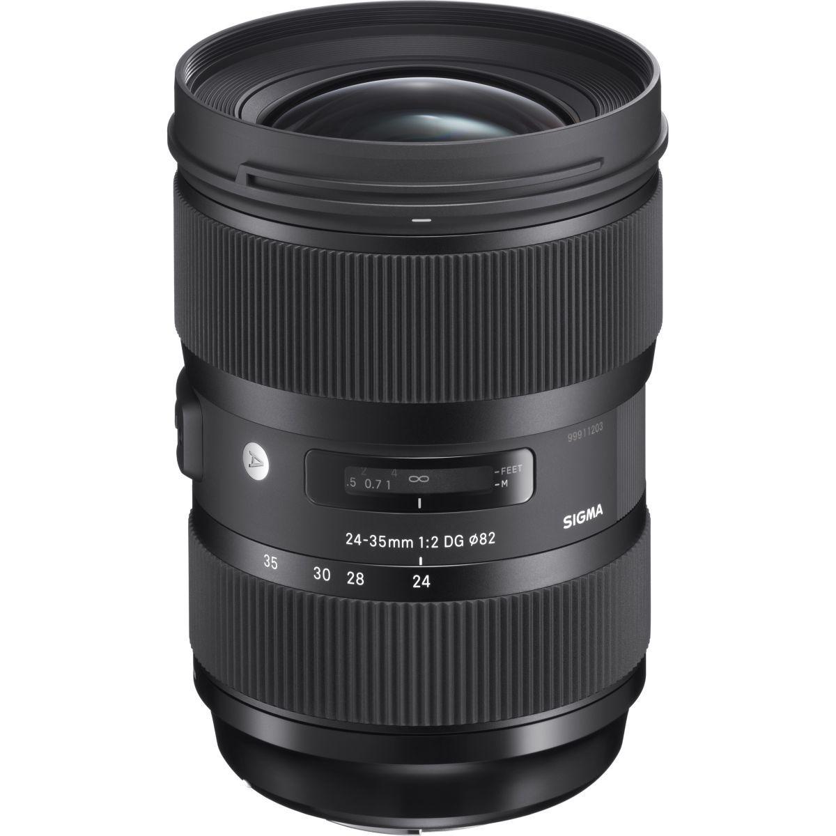 Objectif pour reflex plein format sigma 24-35mm f2 dg hsm art ...