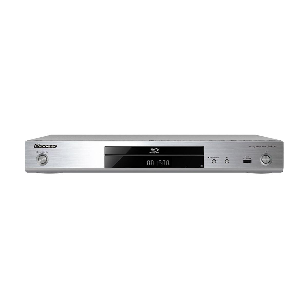 Lecteur blu-ray pioneer bdp180 silver (photo)