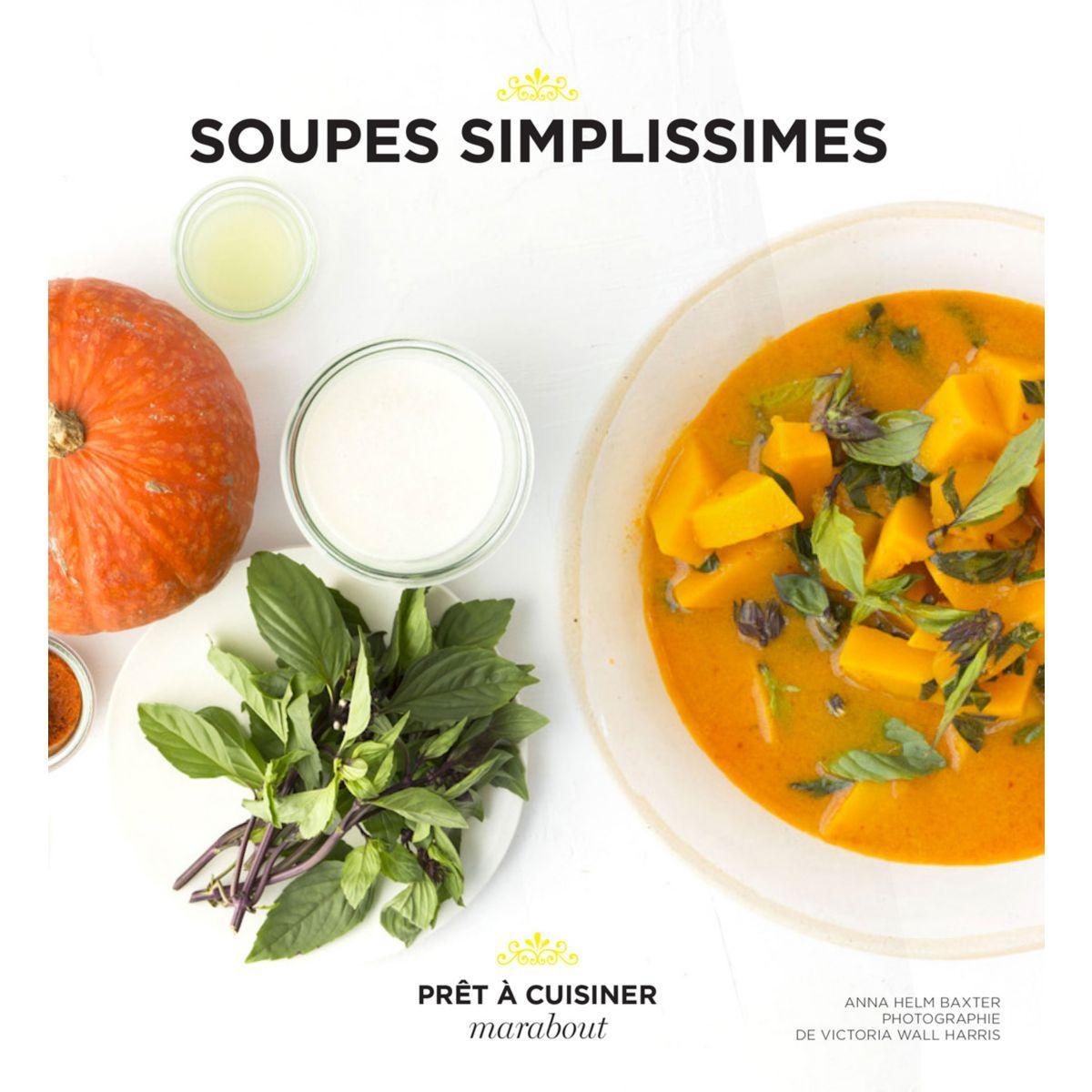 Livre hachette soupes minutes - la sélection webdistrib.com (photo)