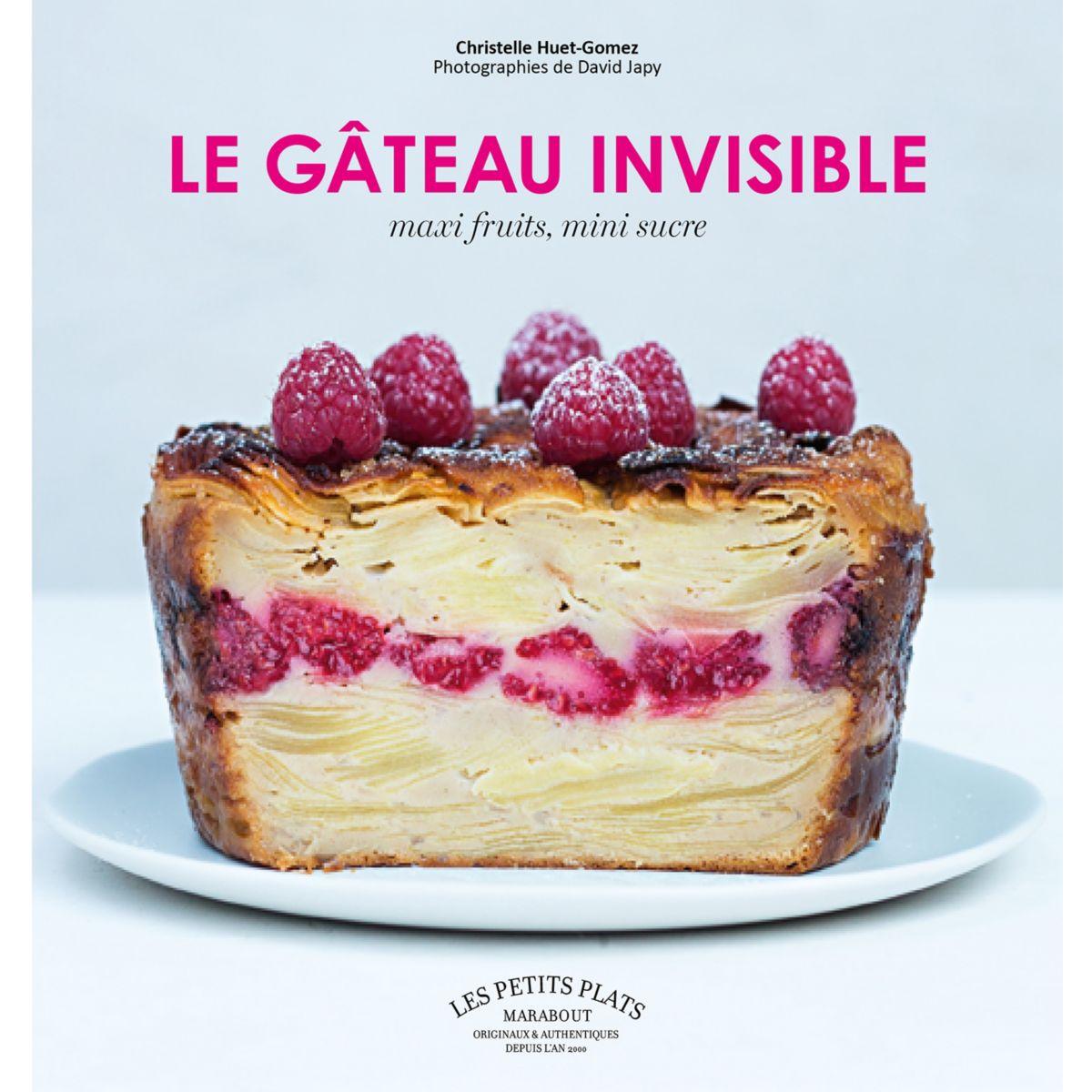 Livre hachette gâteaux invisibles - la sélection webdistrib.com (photo)