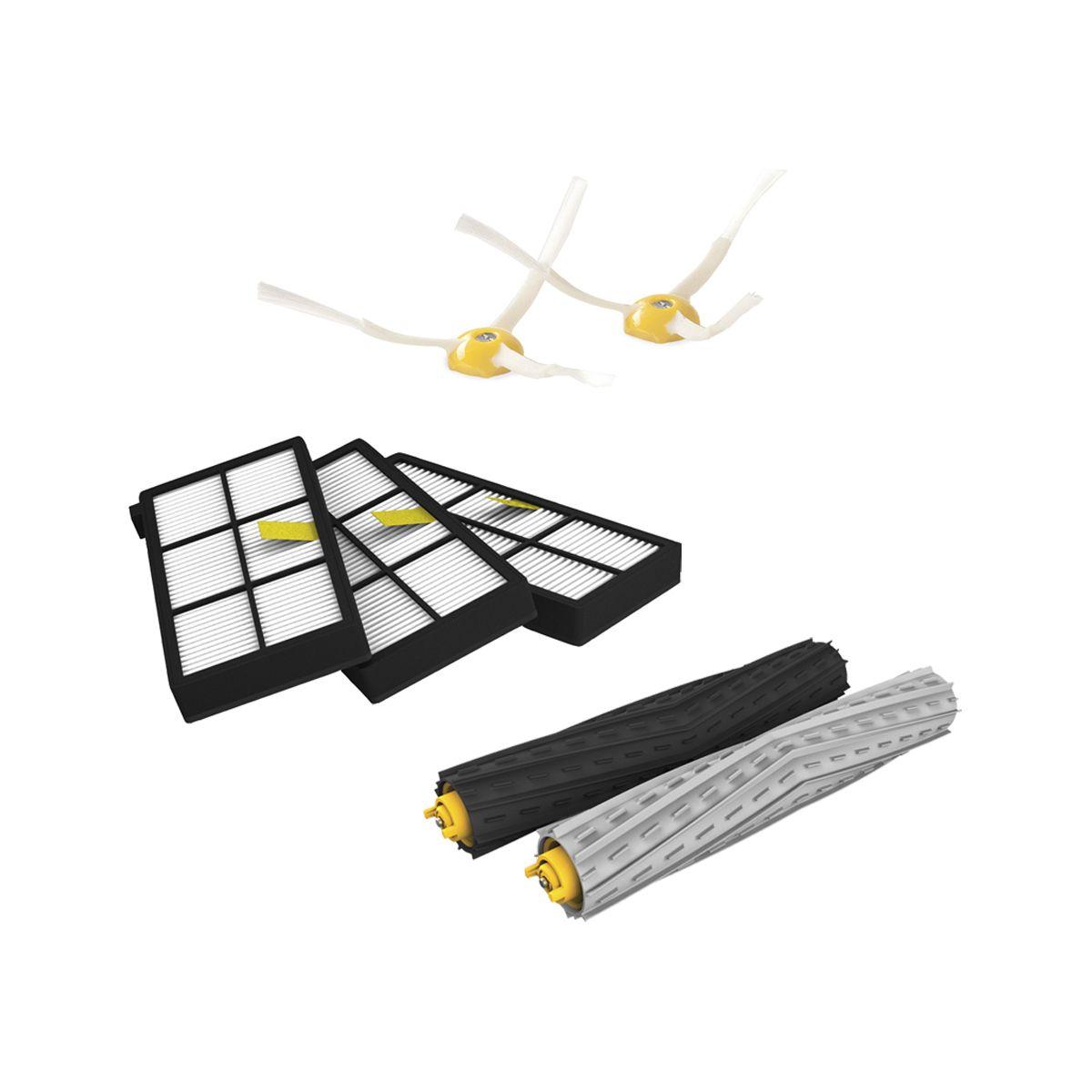 Filtre et brosse irobot kit de remplacement s�rie 800/900 - livraison offerte : code premium (photo)