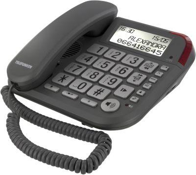 Téléphone répondeur filaire telefunken cosi tf651 argent - 20% de remise immédiate avec le code : cool20 (photo)