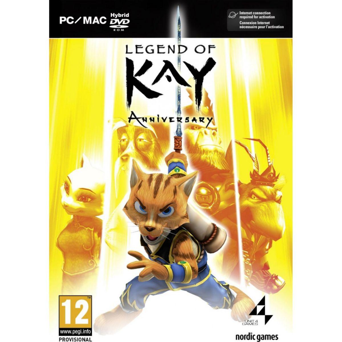 Jeu pc just for games legend of kay anniversary hd - 20% de remise immédiate avec le code : multi20 (photo)