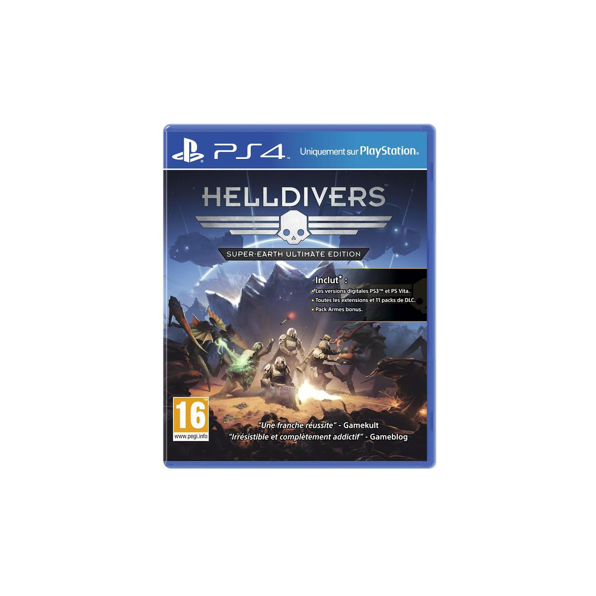 Jeu ps4 sony helldivers : super-earth ultimate edition (photo)