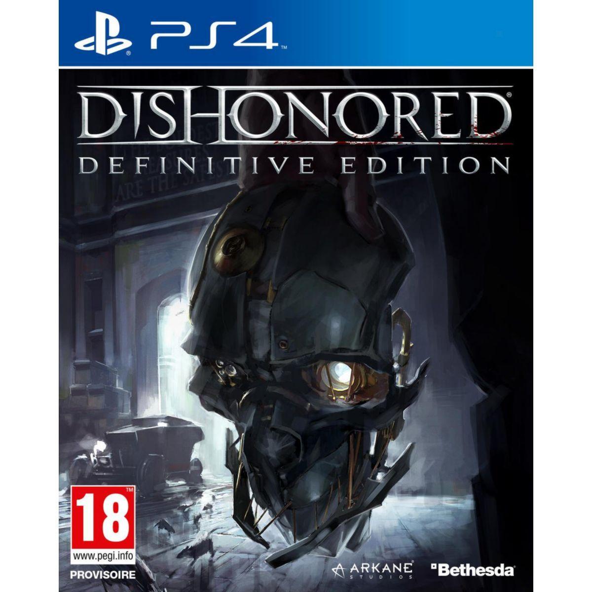 Jeu ps4 bethesda dishonored definitive edition - 20% de remise immédiate avec le code : multi20 (photo)