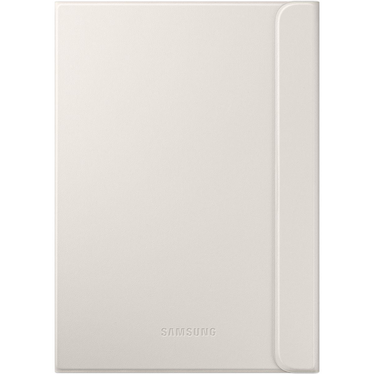 Etui tablette samsung book cover tab s2 9.7'' blanc - livraison offerte : code premium (photo)