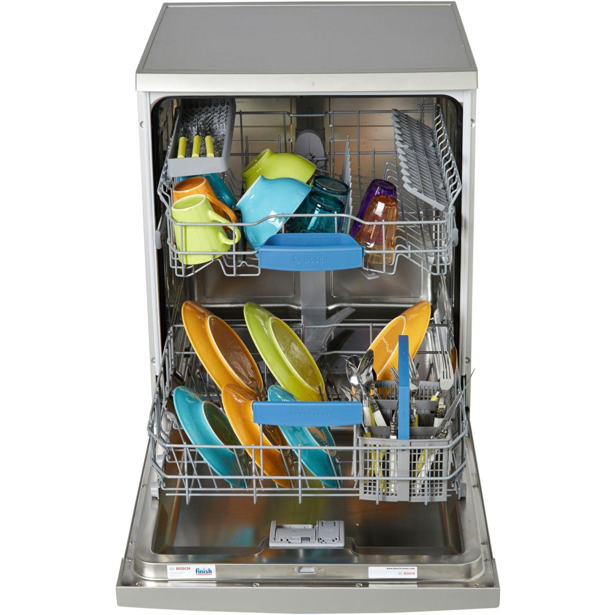 Lave-vaisselle 60cm bosch sms63m28ff - 10% de remise : code gam10 (photo)