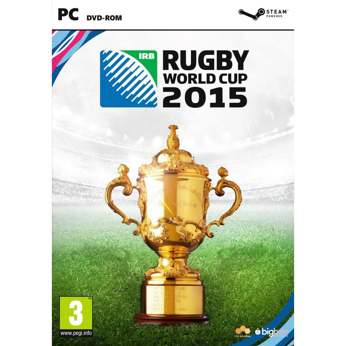 Jeu pc bigben rugby world cup 2015 - soldes et bons plans (photo)