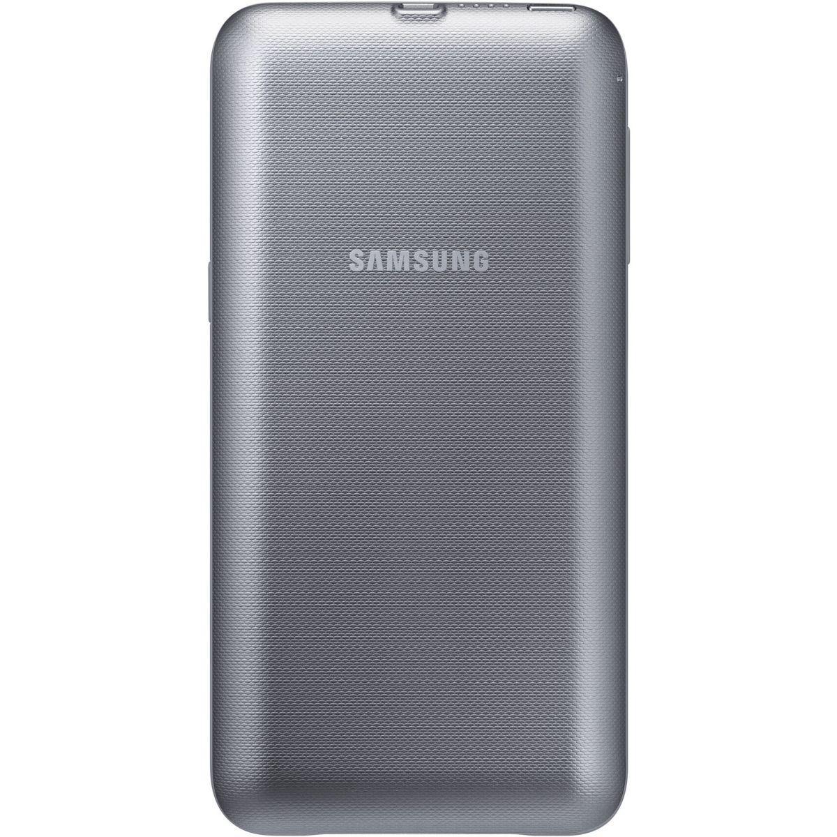 Batterie externe samsung � induction argent 3400ma design s6edge+ - 20% de remise imm�diate avec le code : deal20 (photo)