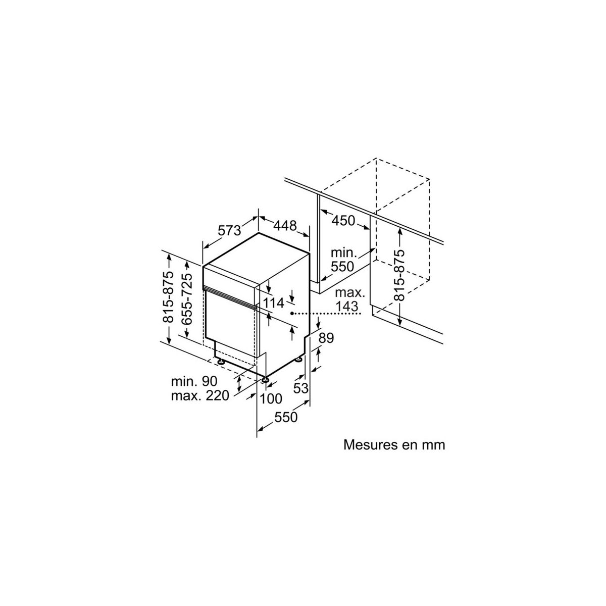 Lave-vaisselle intégrable bosch spi50e95eu - 2% de remise : code gam2