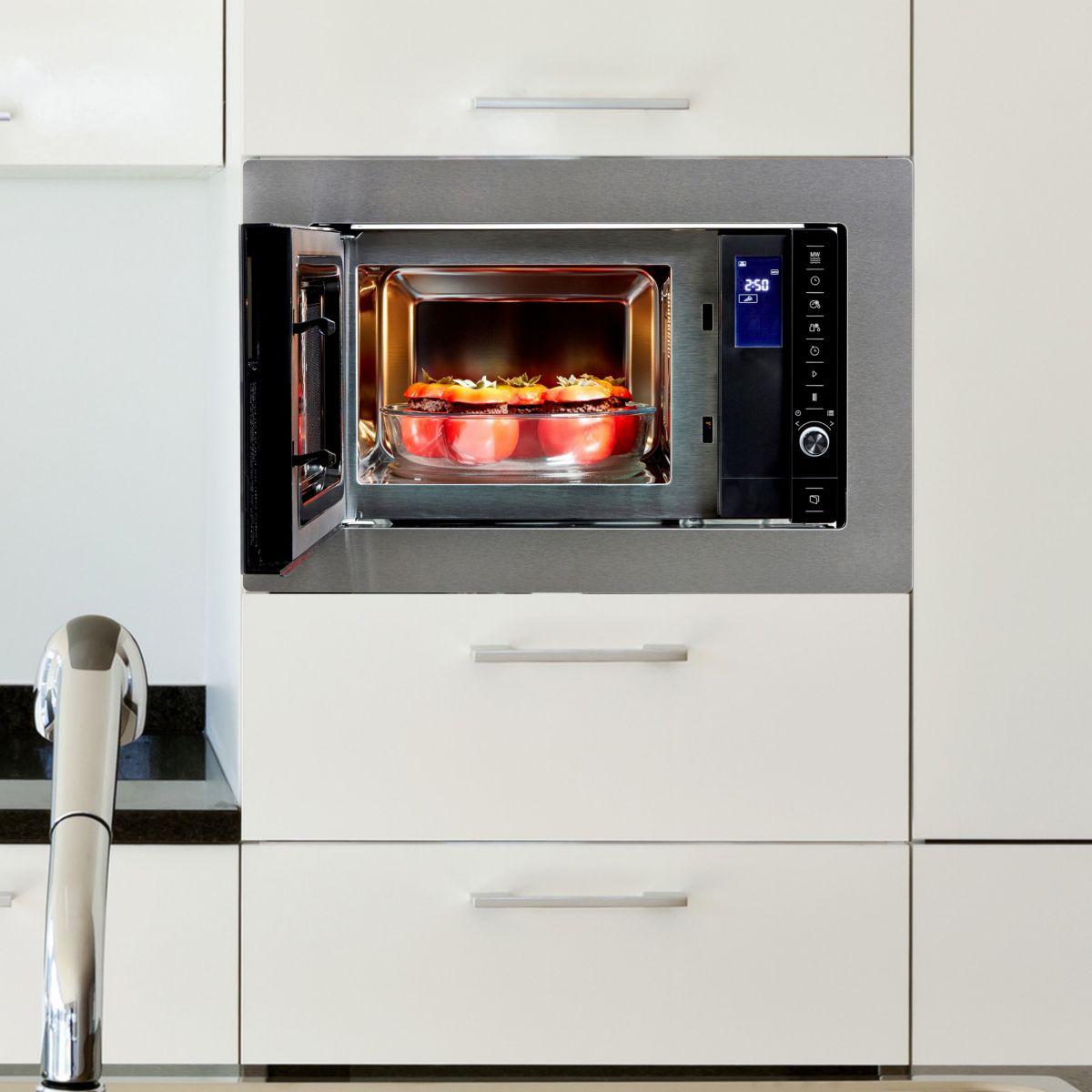 lectrom nager micro onde encastrable beko mob20231bg. Black Bedroom Furniture Sets. Home Design Ideas