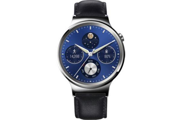 Montre connectée huawei watch classic argent/cuir - 10% de remise immédiate avec le code : top10 (photo)