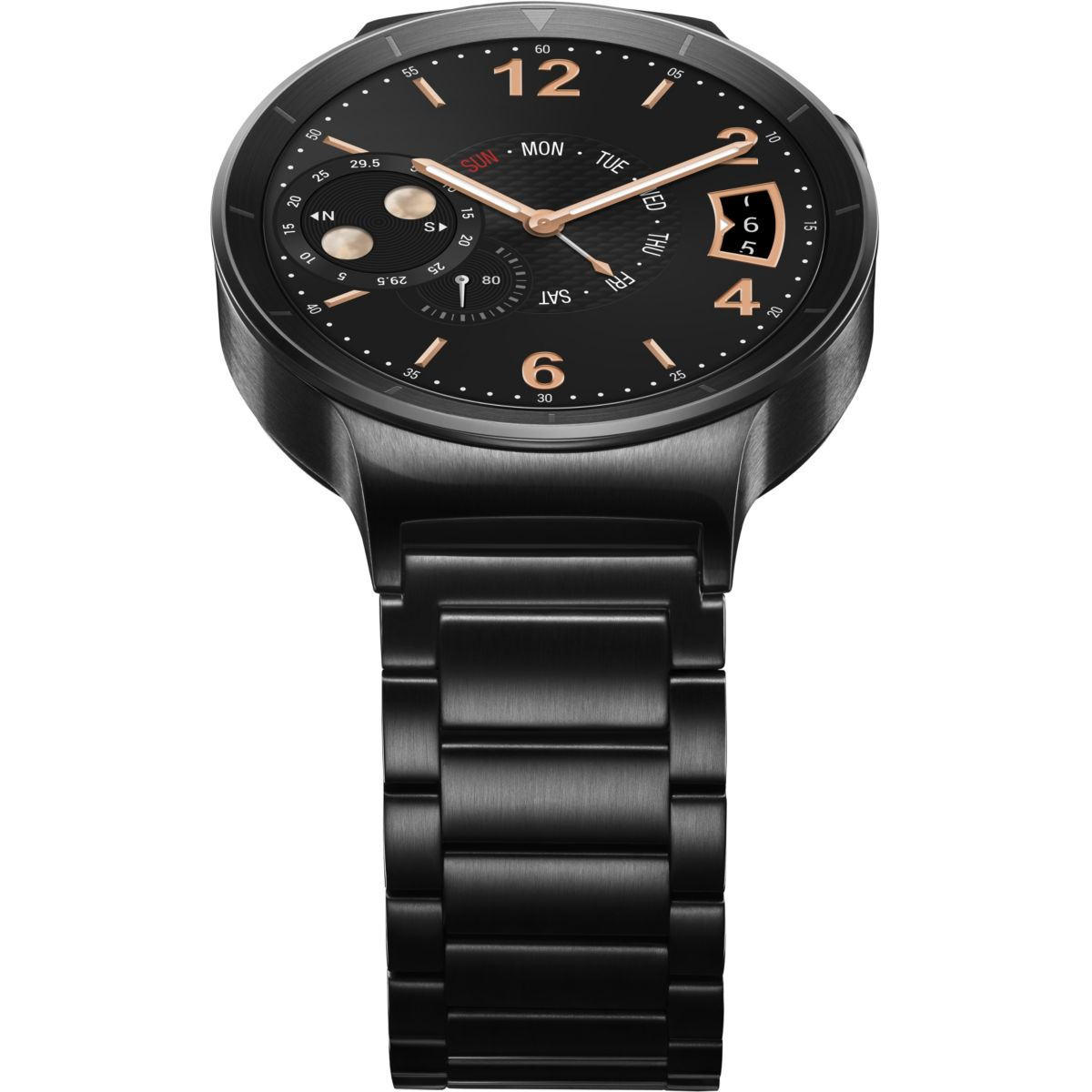 Montre connectée huawei watch active noir/acier - 10% de remise immédiate avec le code : top10 (photo)