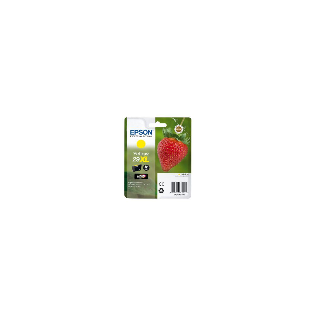 Cartouche d'encre epson t2994 jaune xl s?rie fraise