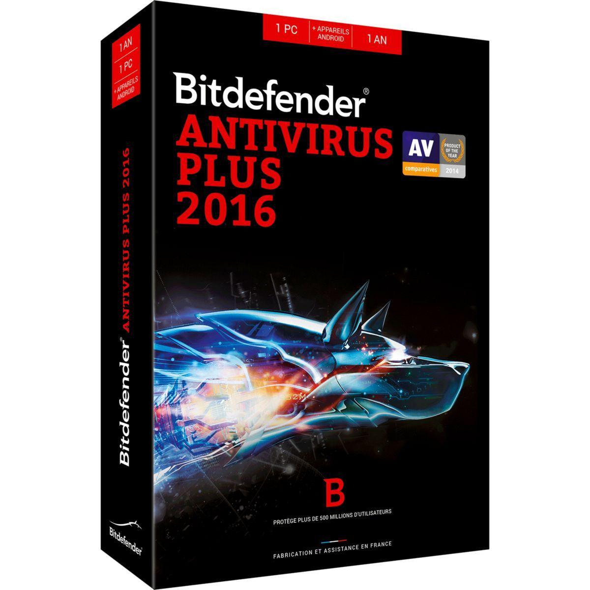 Logiciel pc bitdefender bitdefender antivirus - 5% de remise immédiate avec le code : unpeu