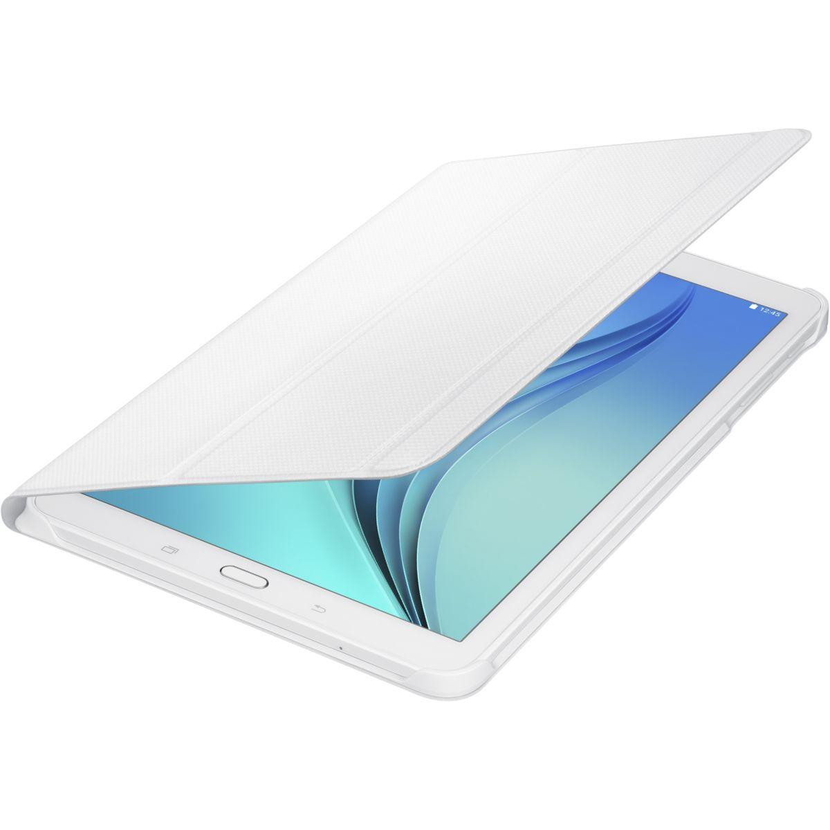 Etui samsung book cover tab e blanc - 20% de remise immédiate avec le code : cool20 (photo)