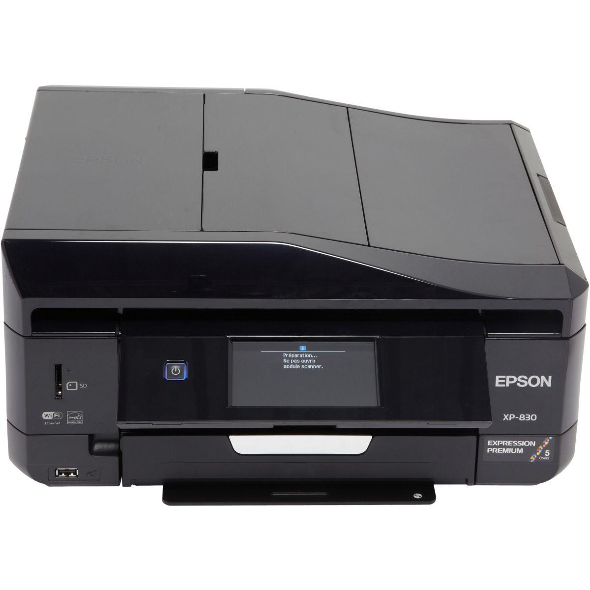 Imprimante jet d'encre epson xp 830 (photo)