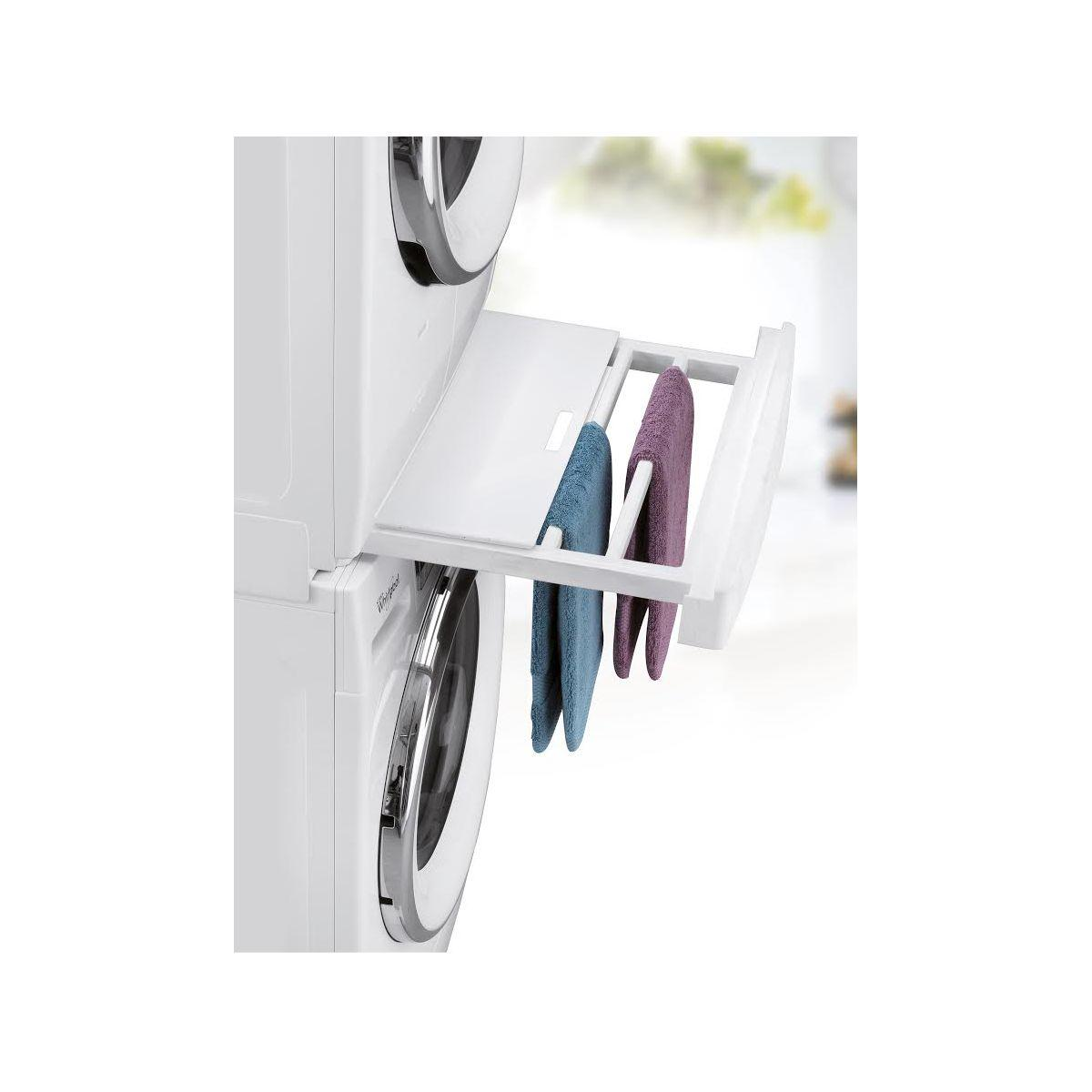 Kit de superposition wpro skp101 universel lave-linge/s�che-linge (photo)
