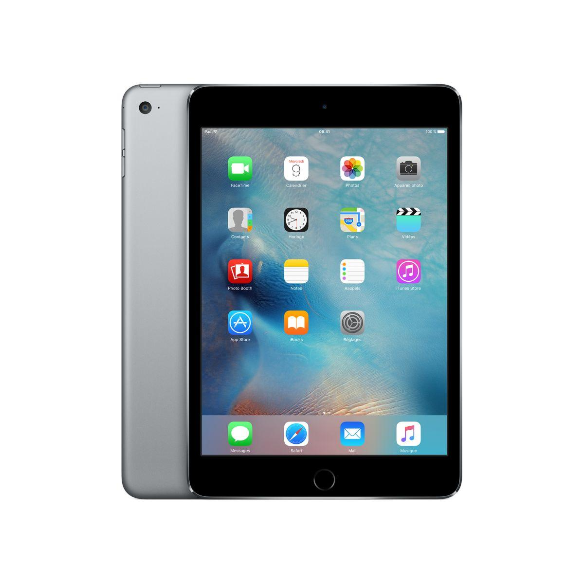 Apple ipad mini 4 128go gris sidéral (photo)