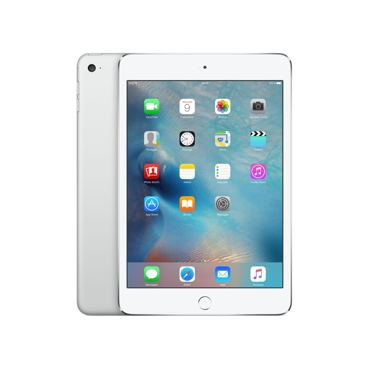 Apple ipad mini 4 128go argent (photo)