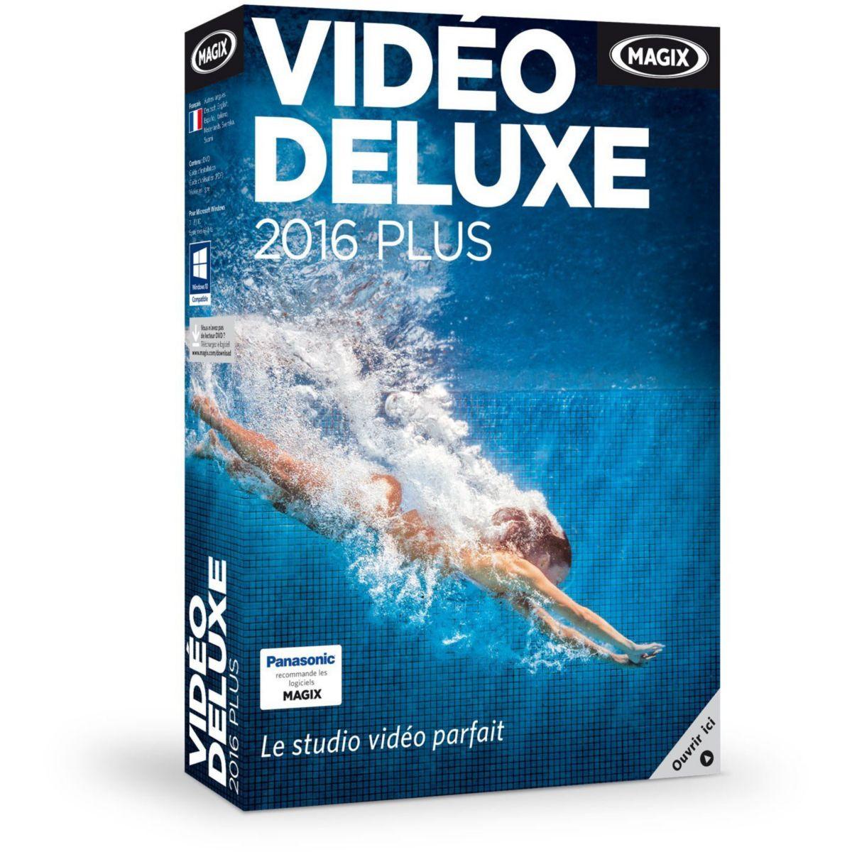Logiciel pc magix vidéo deluxe 2016 plus – 10 € de remise : code cash10
