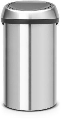 Poubelle brabantia touch bin matt steel - 20% de remise immédiate avec le code : pam20