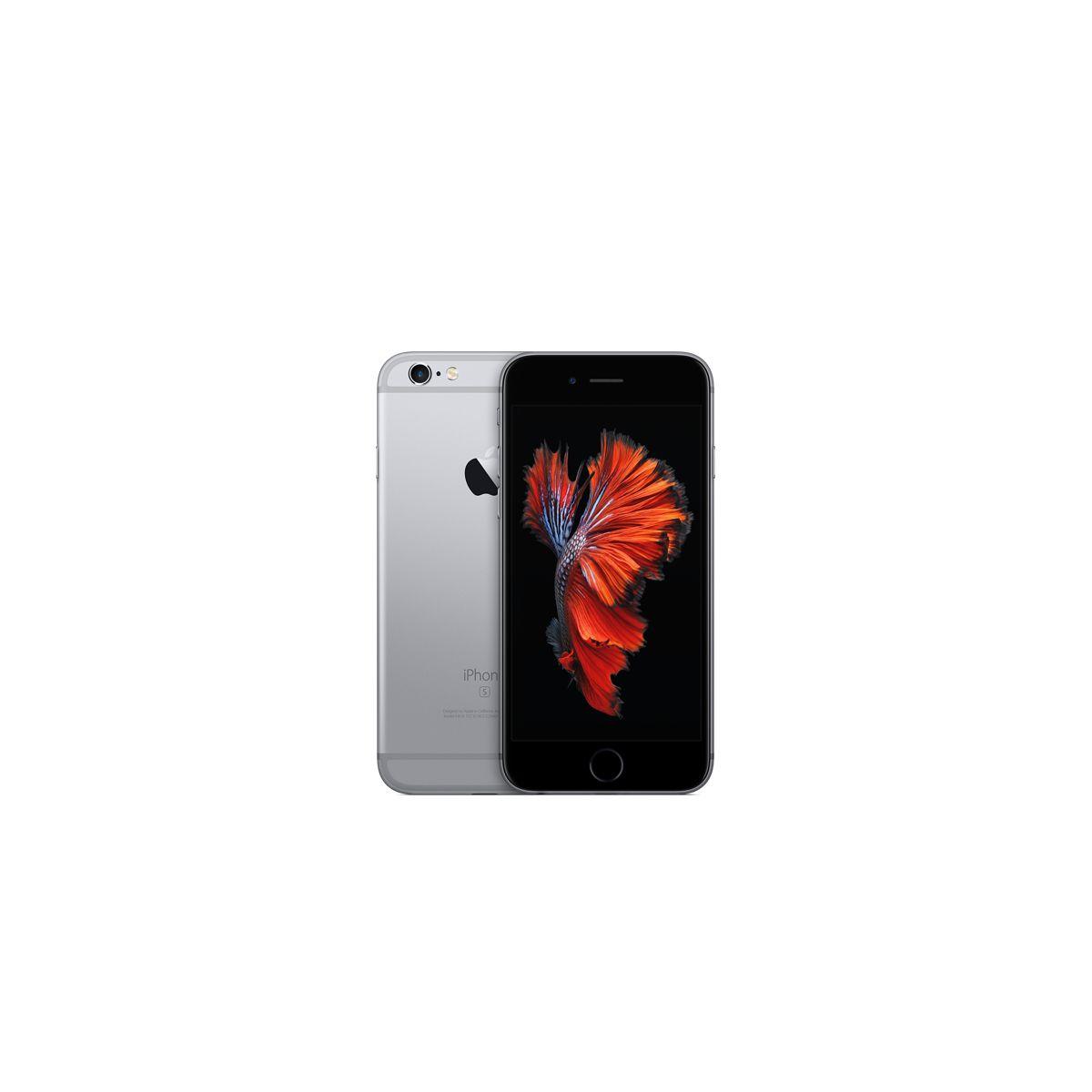 Apple iphone 6s 128go gris sidéral - 2% de remise immédiate avec le code : fete2 (photo)