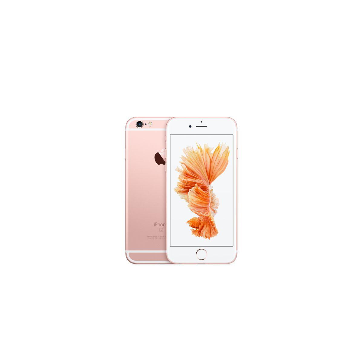 Apple iphone 6s 128go or rose - 2% de remise immédiate avec le code : fete2 (photo)