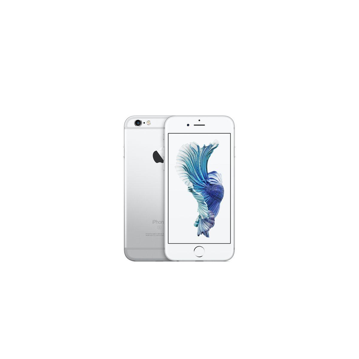 Apple iphone 6s 128go argent - 2% de remise immédiate avec le code : fete2 (photo)