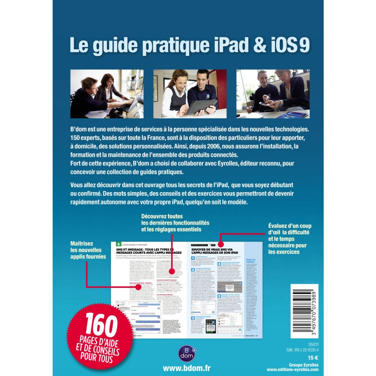 Librairie informatique bdom+ l'univers tablette ipad v2 (photo)