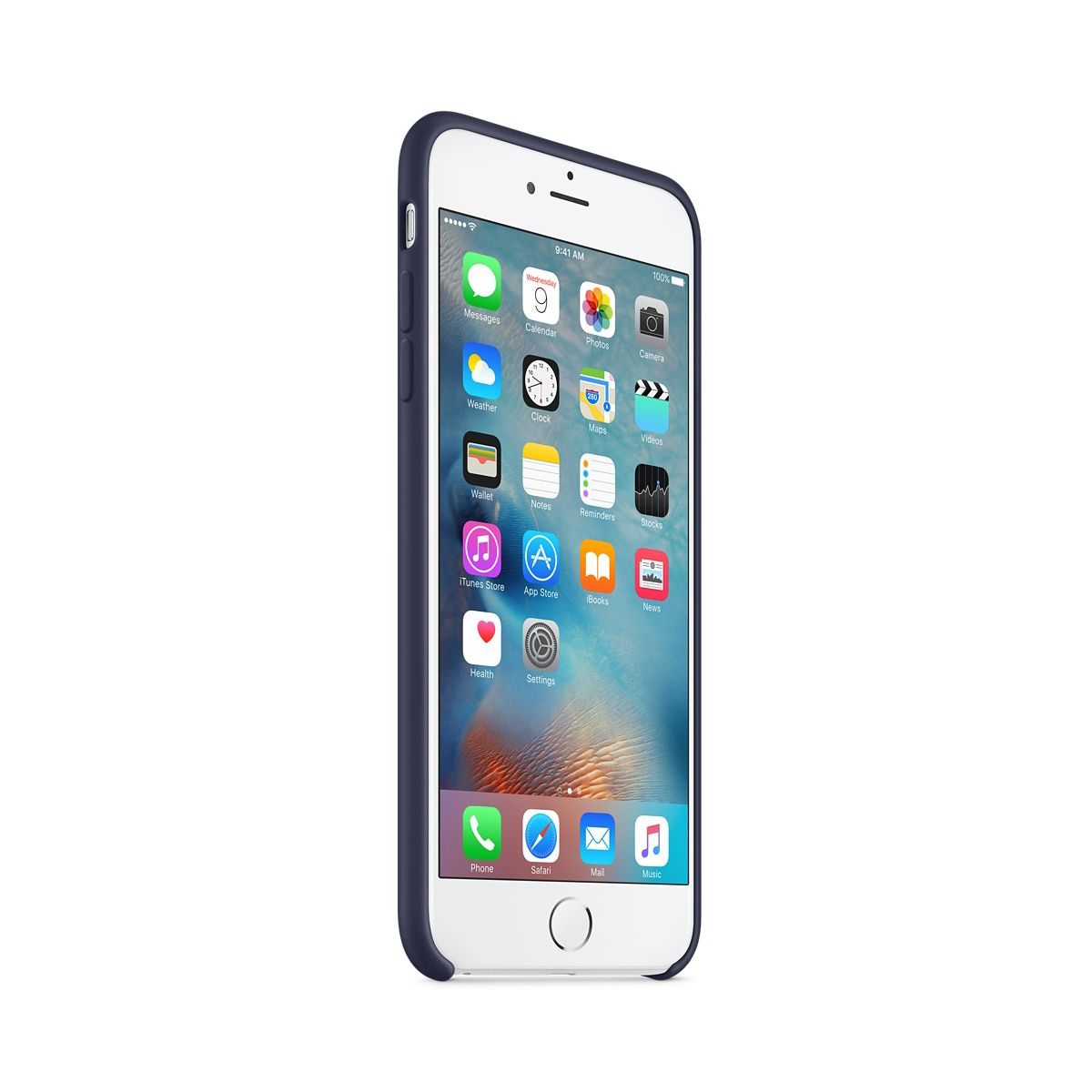 Coque apple iphone 6s plus bleu nuit (photo)