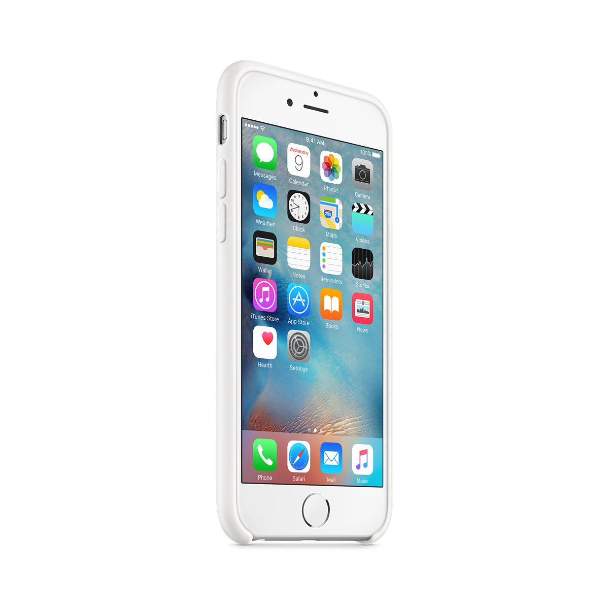 Coque apple iphone 6s blanc (photo)