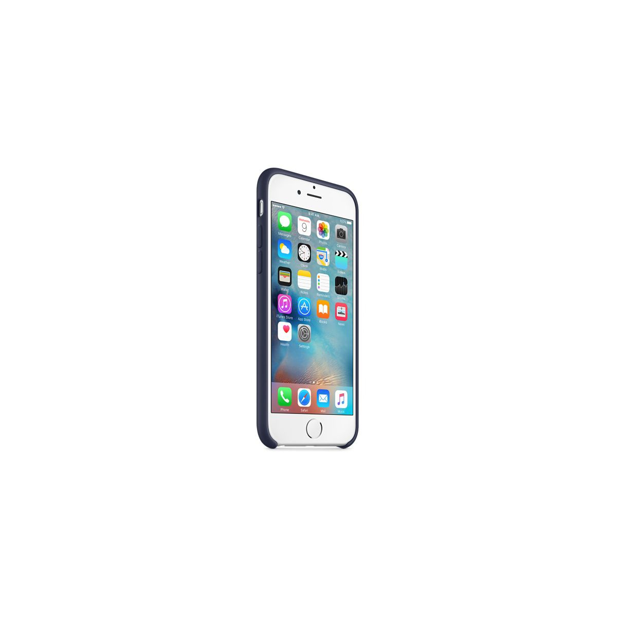 Coque apple iphone 6s bleu nuit (photo)