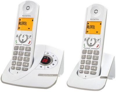 Téléphone répondeur sans fil duo alcatel f330 voice grey - 3% de remise immédiate avec le code : multi3 (photo)