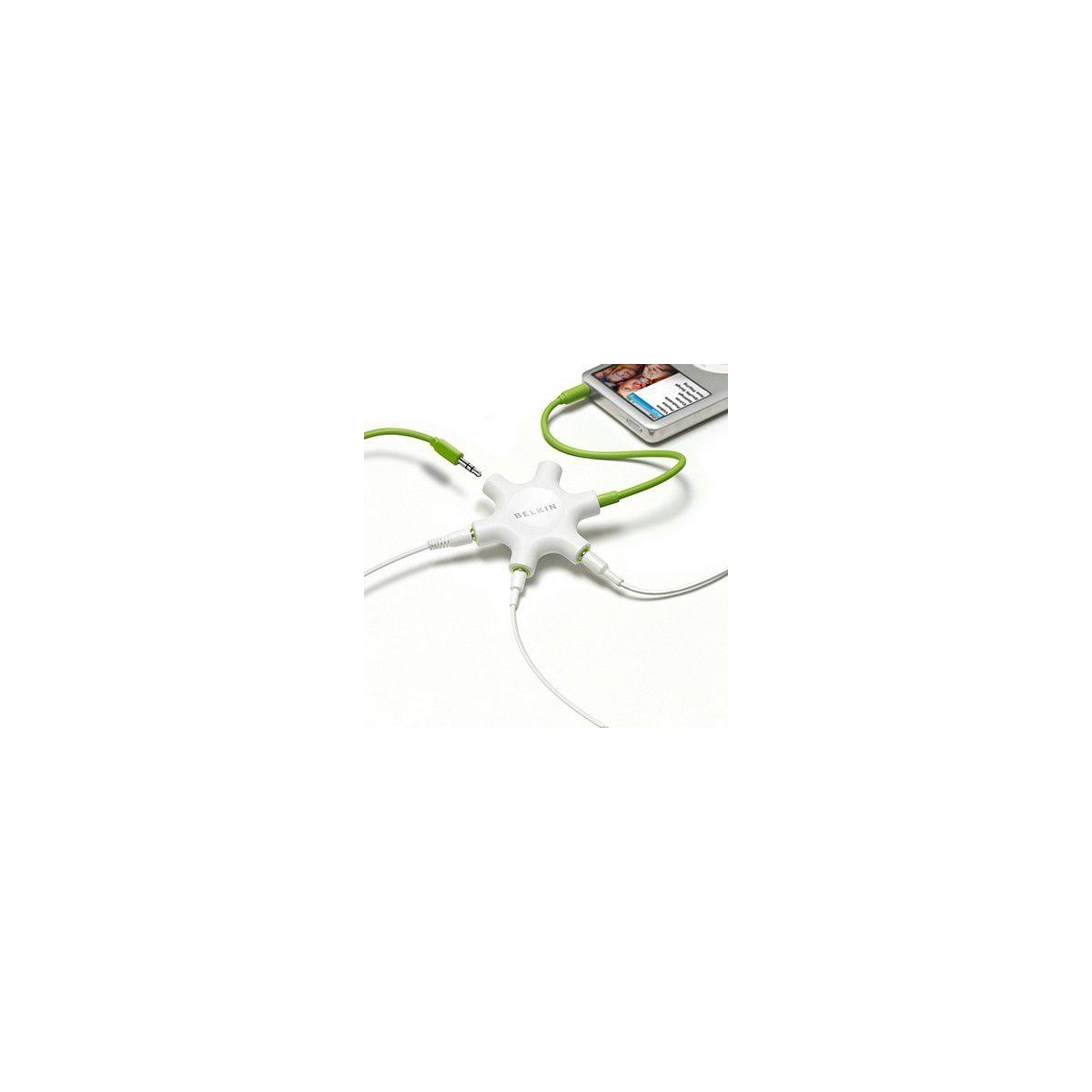 Connectique belkin splitteur 5 casques - 20% de remise immédiate avec le code : cool20 (photo)
