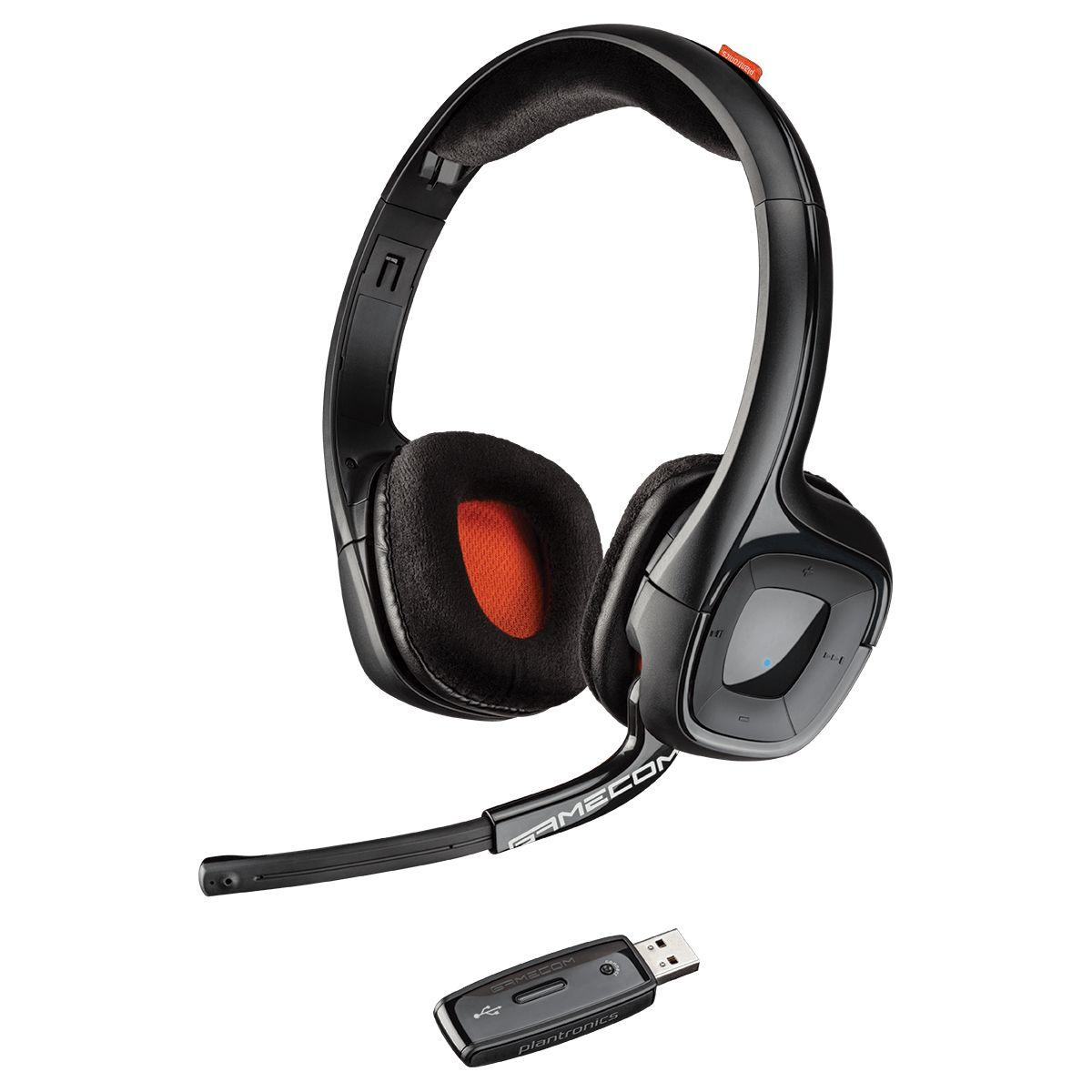 Casque micro pro plantronics gamecom 818 - 5% de remise : code multi5 (photo)