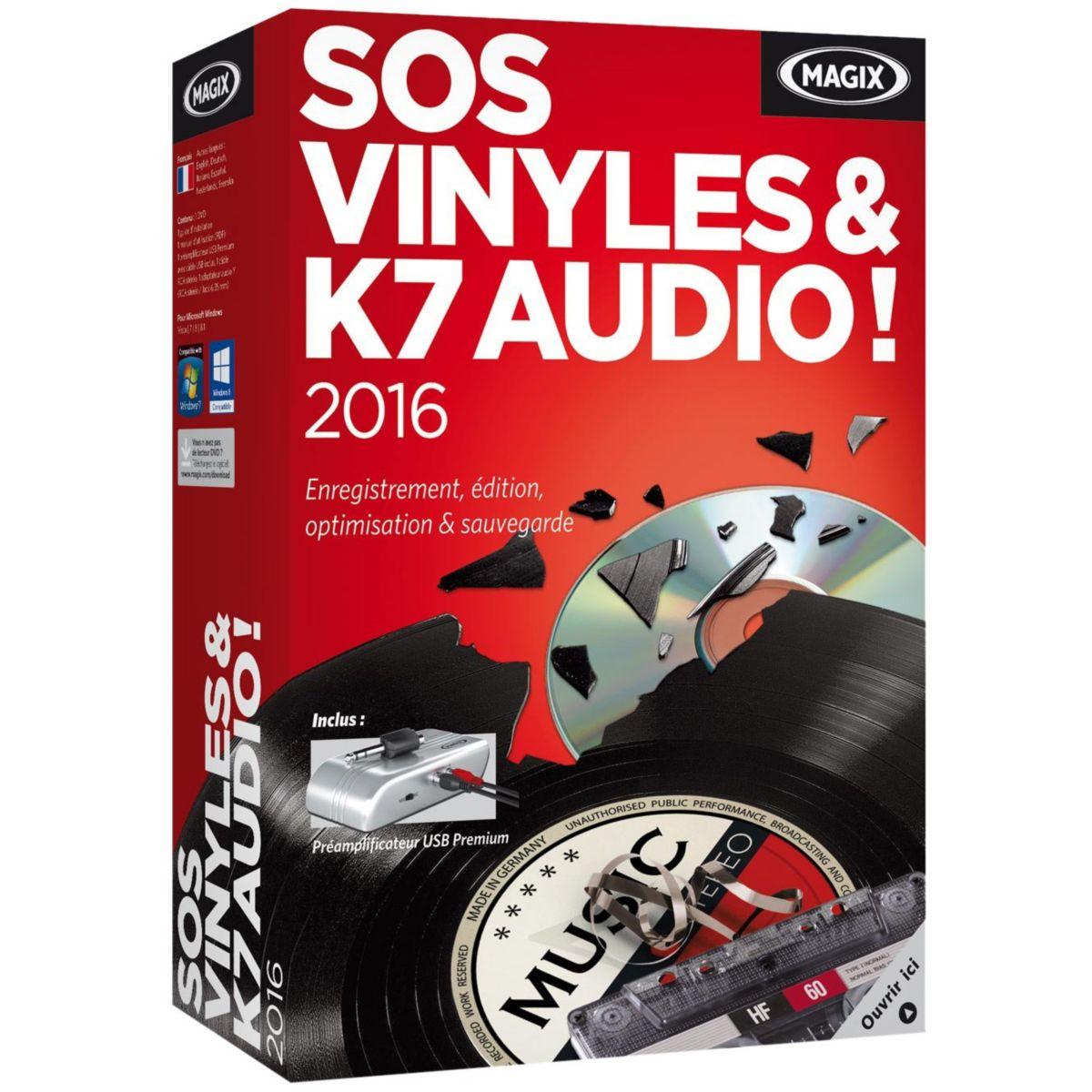 Logiciel pc magix sos vinyls & k7 audio ! 201 – 10 € de remise : code cash10