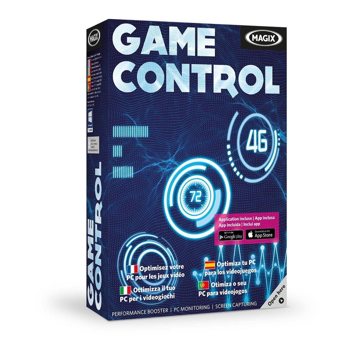 Logiciel pc magix game control