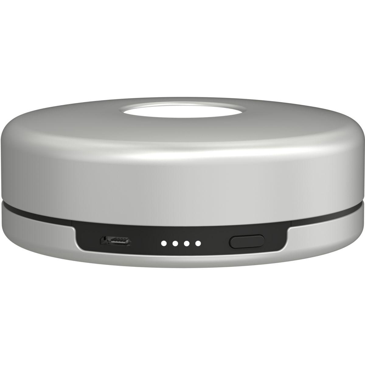 t l phonie gps chargeur induction nomad pod silver pour apple watch la s lection webdistrib. Black Bedroom Furniture Sets. Home Design Ideas