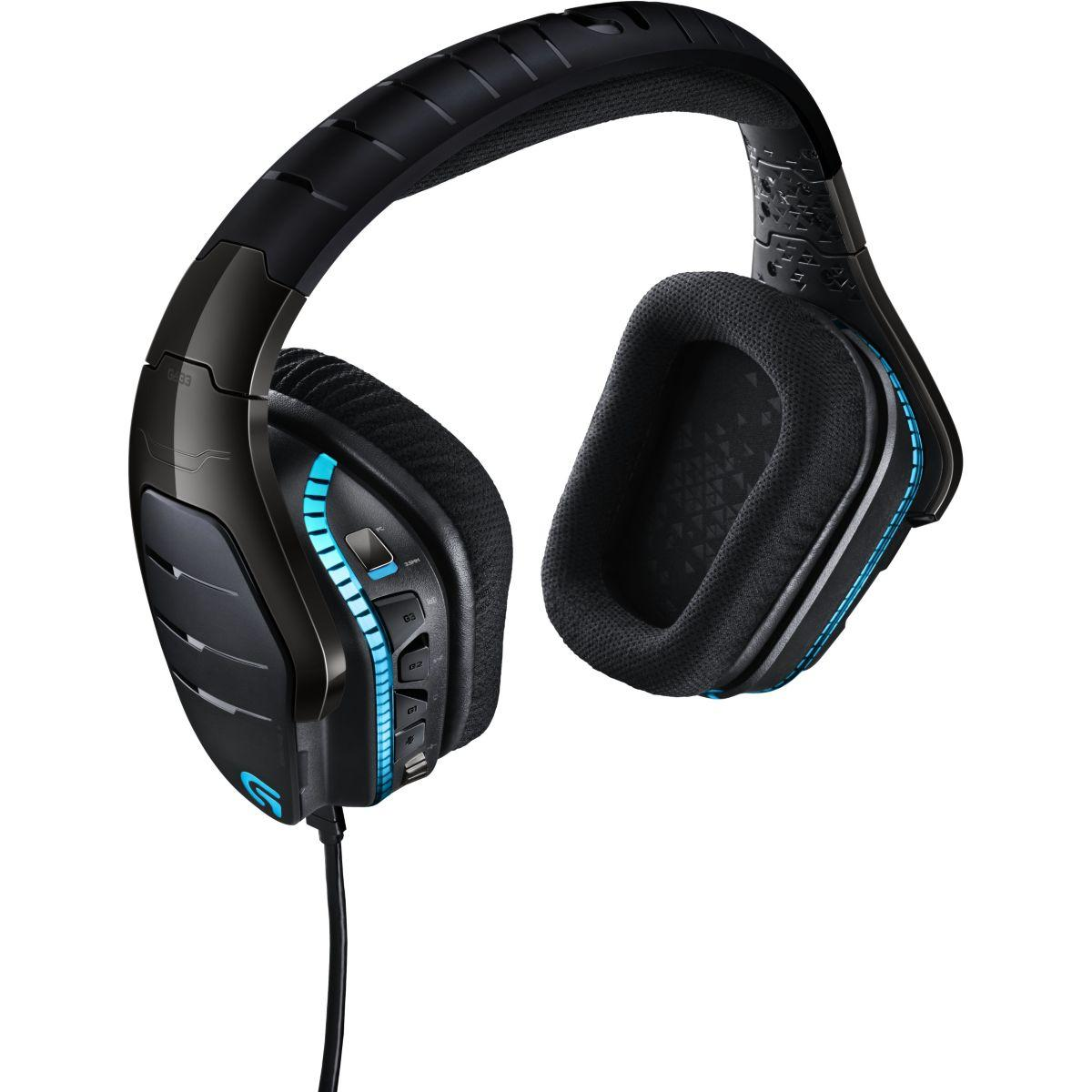 Casque micro gamer logitech g633 artemis spectrum - livraison offerte : code livfree (photo)