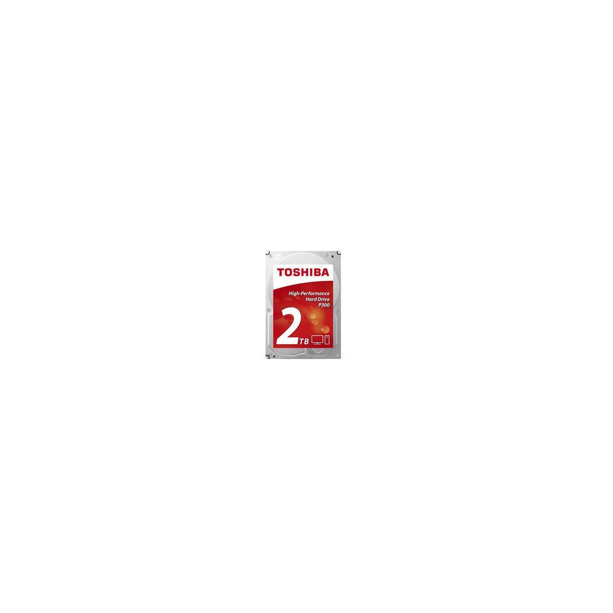 Disque dur interne toshiba 3,5'' 2to p300 - 2% de remise imm�diate avec le code : deal2