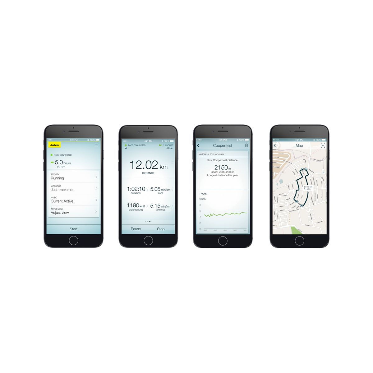 Casque sport jabra sport pace wireless jaune - livraison offer...