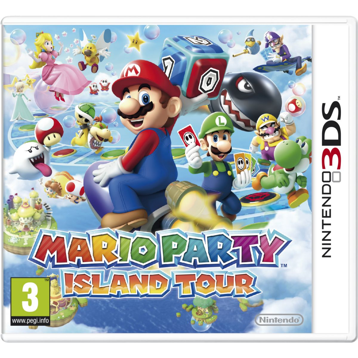 Jeu 3ds nintendo mario party island tour selects - 2% de remise immédiate avec le code : cool2 (photo)