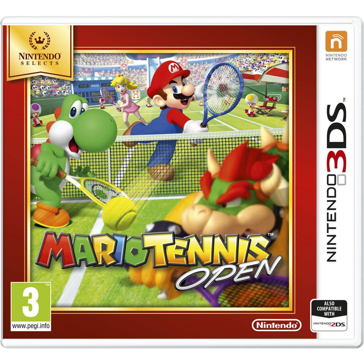 Jeu 3ds nintendo mario tennis open selects - 2% de remise imm�diate avec le code : noel2 (photo)