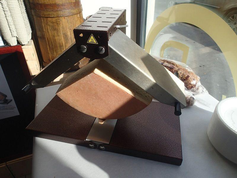 Espace test test produit et avis de l 39 appareil raclette - Appareil a raclette demi meule ...