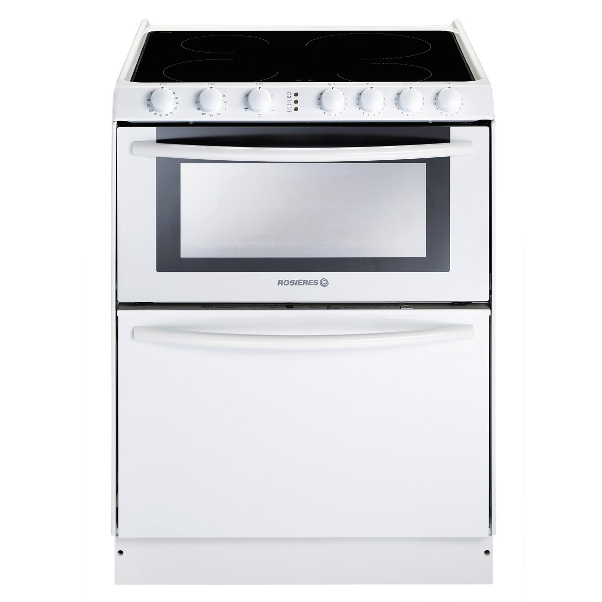 Lave vaisselle cuisson triple10v rosieres - Lave vaisselle table de cuisson four ...