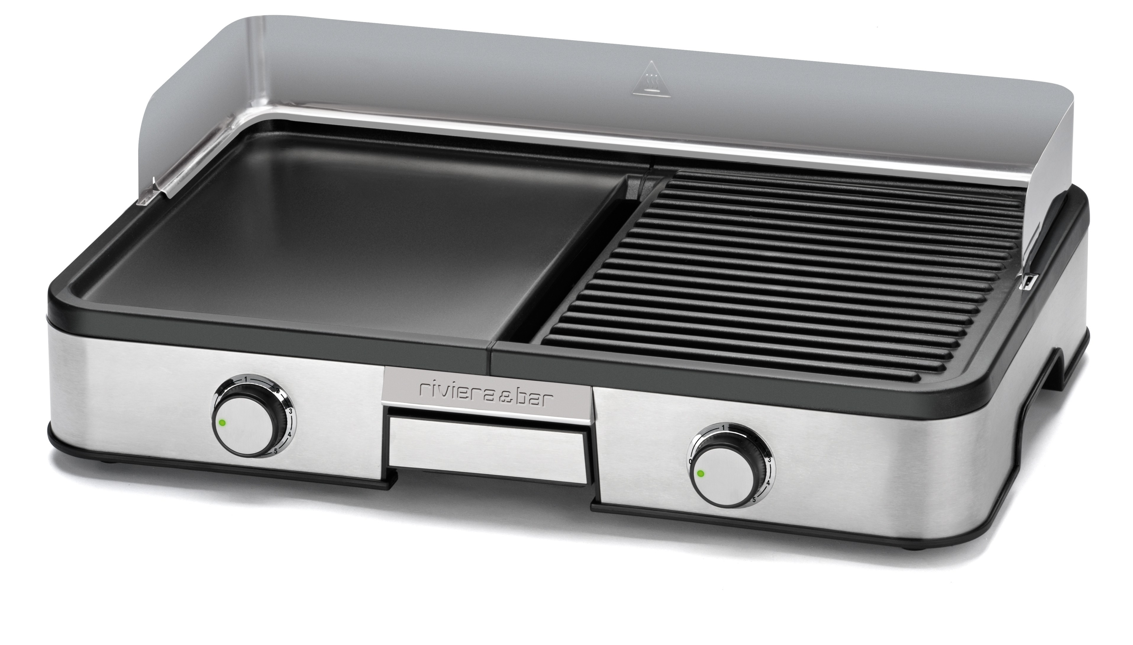 Plancha lectrique qc453a plancha grill riviera bar for Buro grill et bar